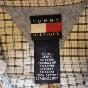 Tommy Hilfiger Shirts & Tops - Tommy Hilfiger Toddler Boys Off White Button Down
